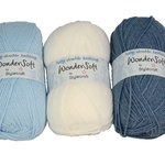 Stylecraft Wondersoft Baby DK 100g Snow White 1001