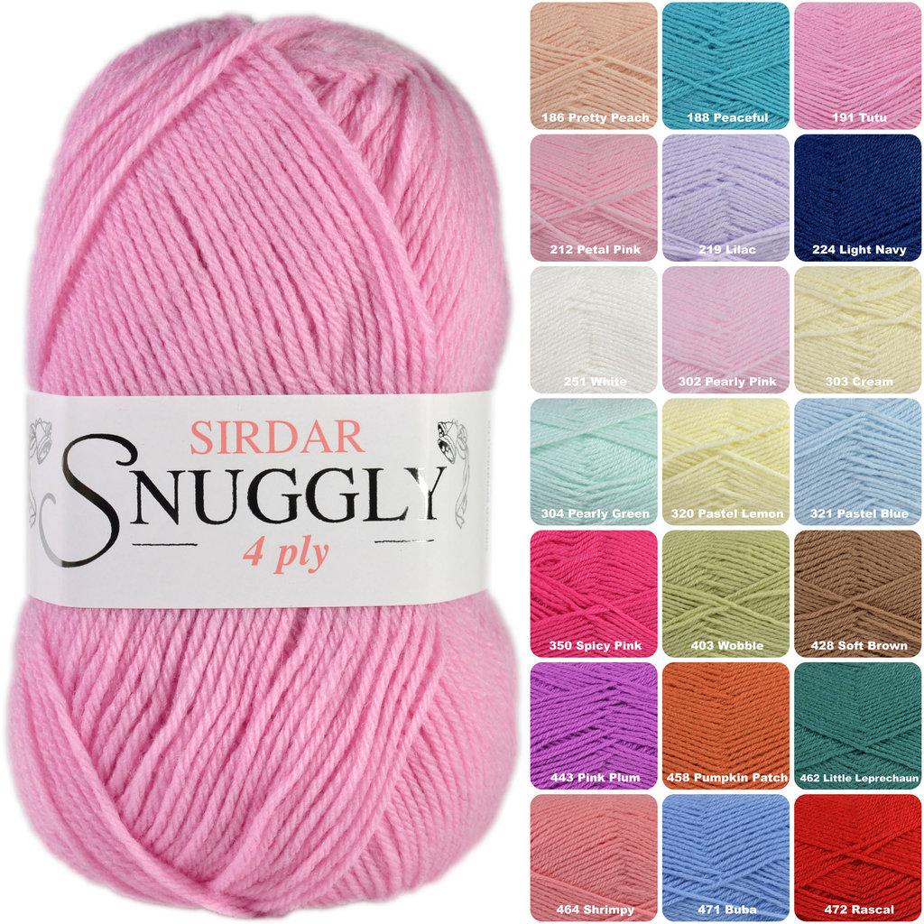 6c5afb670ed4 Buy Sirdar Snuggly 4 Ply 50g Baby Knitting Yarn Online