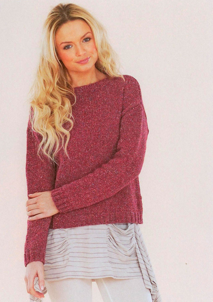 Sublime The Luxurious Aran Tweed Hand Knit Book 670 - Athenbys