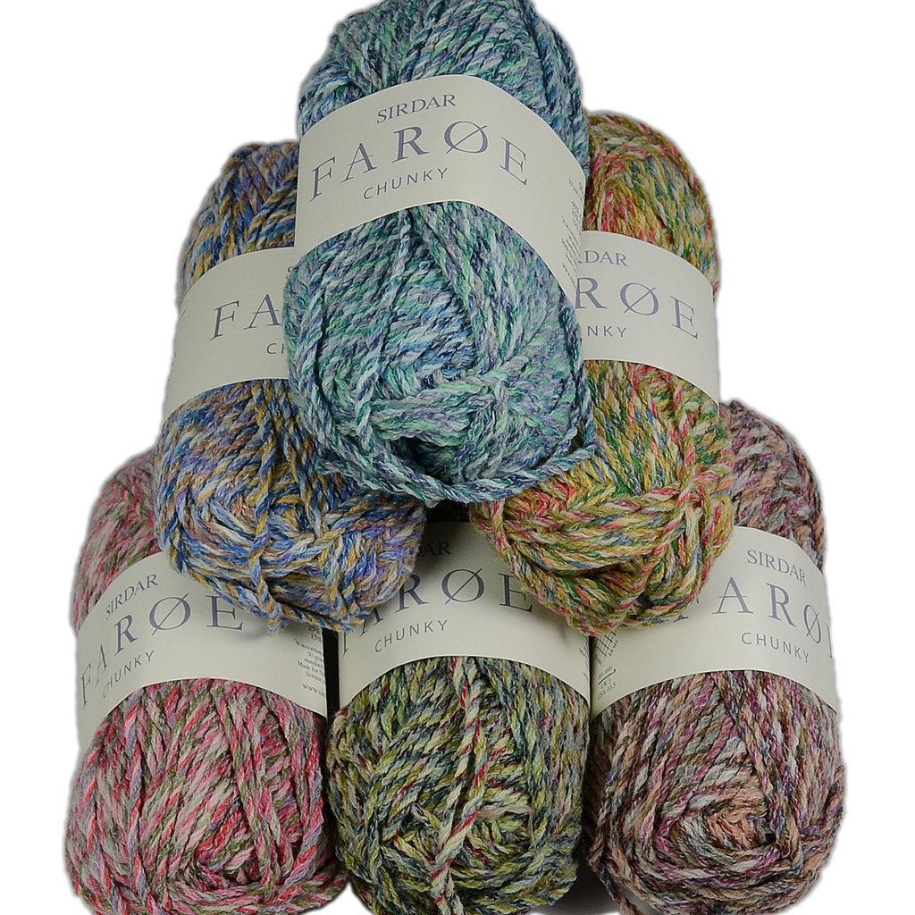 Free Purse Knitting Patterns : Sirdar Faroe Chunky 2402 Knitting Pattern Childs Sweater UK