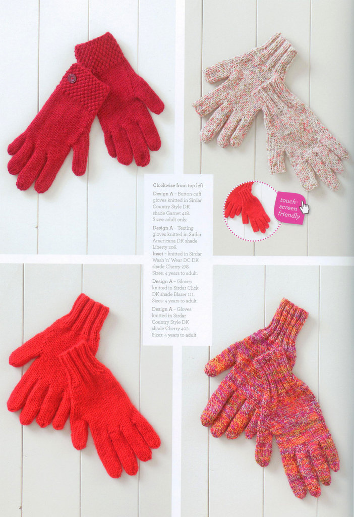 Knitting Accessories Patterns : Sirdar the bumper book of accessories knitting pattern