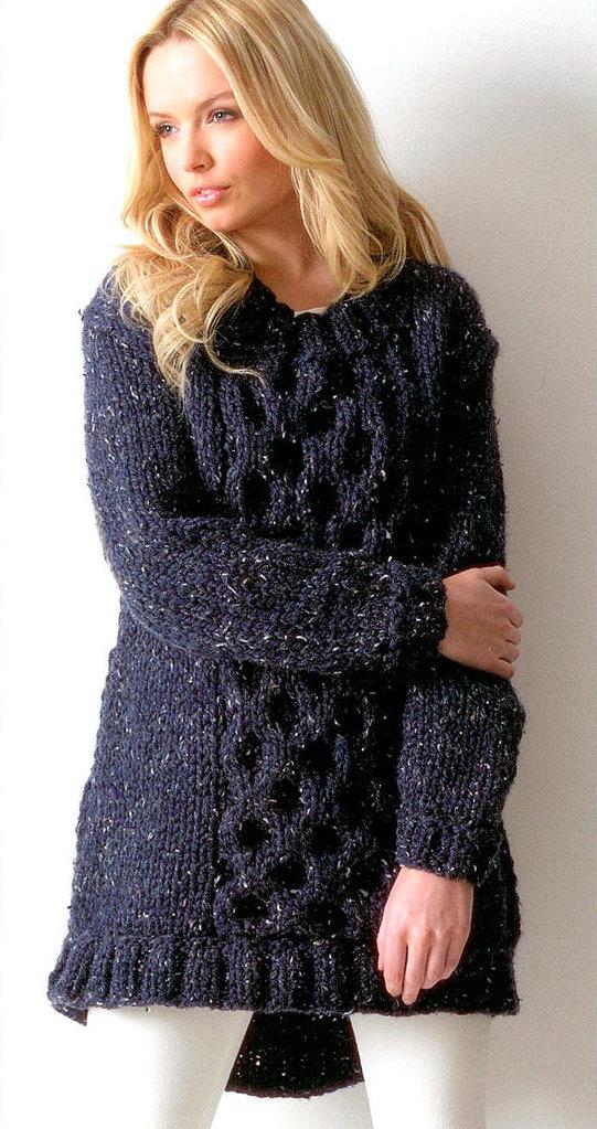 Mega Chunky Knitting Patterns : Buy Ladies Tunic JB114 Knitting Pattern Rustic Mega Chunky