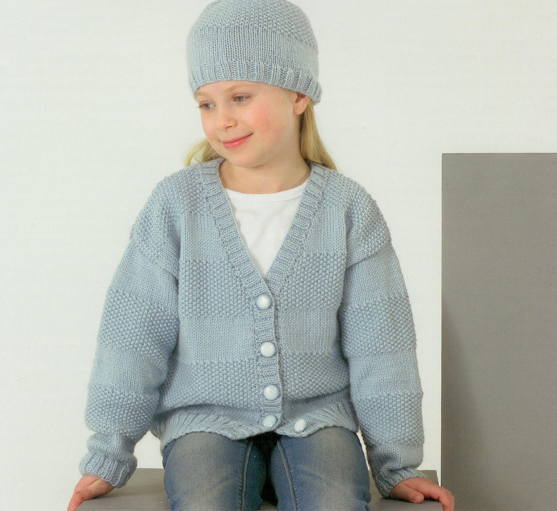 Knitting Pattern Cardigan Girl : Buy James C Brett JB182 Knitting Pattern Girls Cardigans and Hats