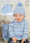 Sirdar Snuggly Baby Crofter DK 1926 Sweater Hat and Blanket