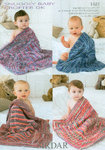 Sirdar Snuggly Baby Crofter DK 1481 Knitting Pattern Blankets