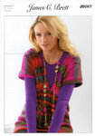 Ladies Sweater JB067 James C Brett Knitting Pattern