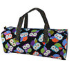 Night Owls Print Rectangular Knitting Craft Bag
