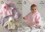 King Cole 3046 Knitting Pattern Blanket, Jacket, Cape and Rabbit in King Cole Comfort Chunky
