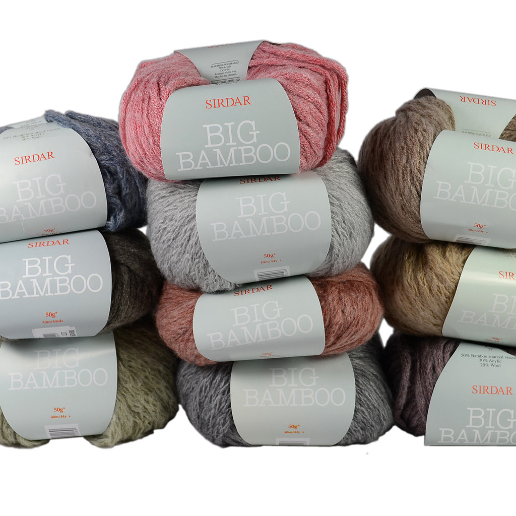 Buy Sirdar Big Bamboo - Clearance Wool