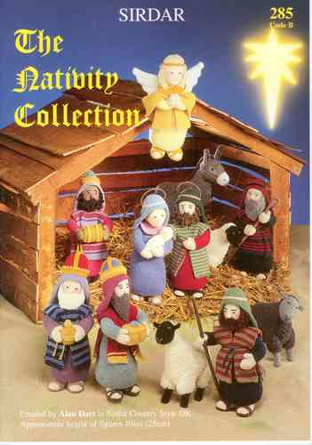 Sirdar 285 The Nativty Collection Knitting Pattern Book