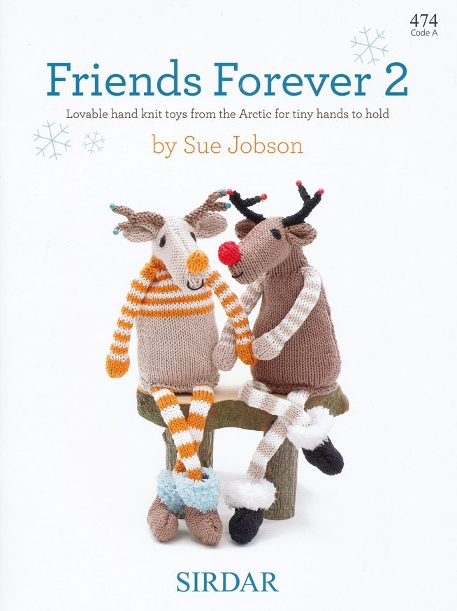 Sue Jobson Knitting Patterns : Sirdar friends forever knitting pattern book by sue
