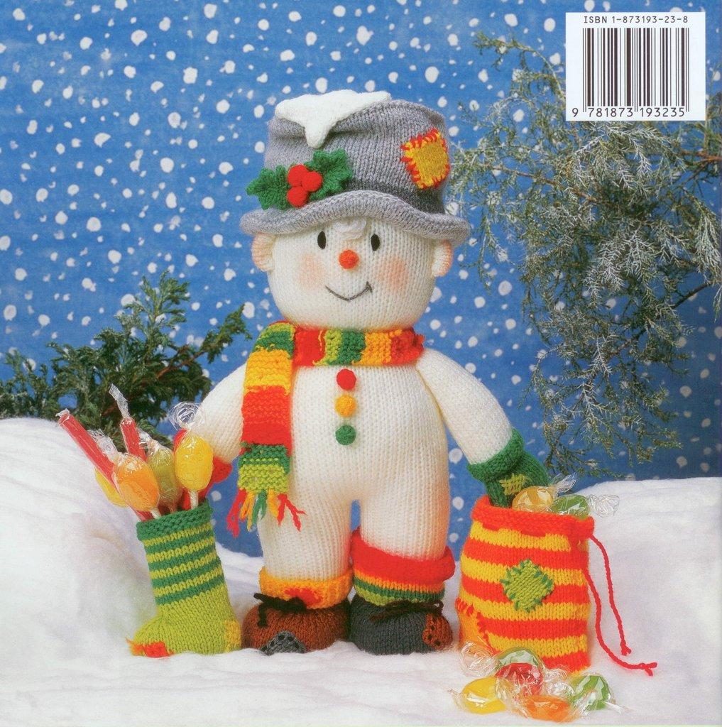 Jean Greenhowe Christmas Treasures Knitting Pattern Book - Athenbys