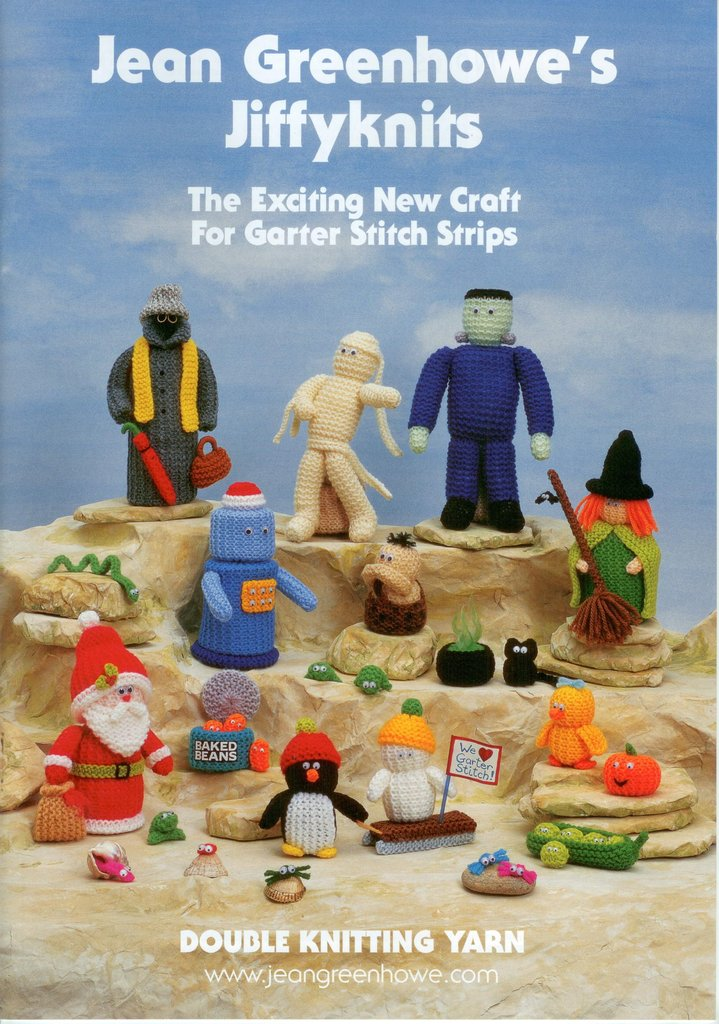 Jean Greenhowe Jiffy Knits Knitting Pattern Book