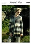 James C Brett JB279 Knitting Pattern Womens Cardigan in James C. Brett Lakeland Chunky