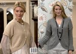 King Cole 3201 Knitting Pattern Womens Cardigan and Bolero in King Cole Baby Alpaca DK