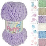 James C Brett Fluffy Chunky Knitting Yarn