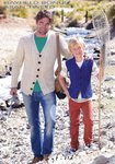 Sirdar 7248 Knitting Pattern Mens Boys Cardigan and Waistcoat in Hayfield Bonus Aran Tweed