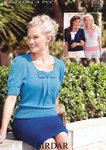 Sirdar 7309 Knitting Pattern Womens Sweaters in Sirdar Cotton 4 Ply