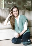 Stylecraft 8920 Knitting Pattern Waistcoat in Stylecraft Weekender