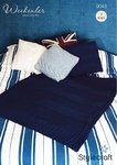 Stylecraft 9043 Knitting Pattern Cushions and Throw in Weekender Super Chunky