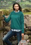 Stylecraft 9074 Knitting Pattern Ladies Sweater in Special Aran