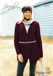 Stylecraft 9073 Knitting Pattern Ladies Jacket in Special Aran