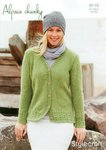 Stylecraft 9115 Knitting Pattern Ladies Cardigan in Alpaca Chunky
