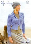 Stylecraft 9111 Knitting Pattern Ladies Fitted Jacket in Alpaca Chunky
