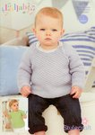 Stylecraft 9176 Knitting Pattern Baby Jumpers in Lullaby DK