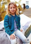 Stylecraft 8902 Knitting Pattern Childrens Girls Cardigans in Stylecraft Special DK