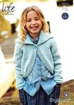 Stylecraft 8905 Knitting Pattern Childrens Girls Cardigan in Life DK