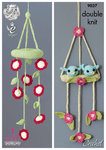 King Cole 9037 Crochet Pattern Baby Mobiles to crochet in King Cole Bamboo Cotton DK