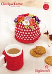 Stylecraft 8853 Crochet Pattern Tea Pot and Mug Cosy in Stylecraft Classique Cotton DK