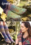 Wendy 5795 Knitting Pattern Long and Short Socks, Textured and Plain Mitts in Roam Fusion 4ply