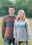 Wendy 4947 Knitting Pattern Unisex Family Fairisle Sweater in Ramsdale DK