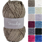 Sirdar Smudge Chenille Knitting Yarn