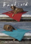 Sirdar 7809 Knitting Pattern Patterned Dog Blankets in Hayfield Chunky with Wool
