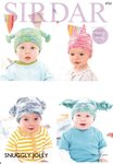 Sirdar 4723 Knitting Pattern Easy Knit Baby & Child's Hats in Sirdar Snuggly Jolly DK