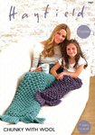 Sirdar 7907 Crochet Pattern Mermaid Tails in Hayfield Chunky with Wool
