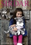 Sirdar 7966 Knitting Pattern Husky Dog Toy in Sirdar Wild and Snowflake Chunky