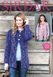 Sirdar 7970 Knitting Pattern Girls Womens Easy Knit Cardigans in Sirdar Wild