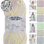 King Cole Giza Cotton Sorbet 4 Ply