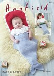 Sirdar 4837 Knitting Pattern Baby Childrens Fish Sleeping Bag in Hayfield Baby Chunky
