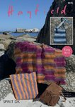 Sirdar 8035 Knitting Pattern Easy Knit Throw Cushion Cover and Bag in Hayfield Spirit DK