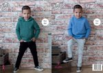 King Cole 4971 Knitting Pattern Boys Easy Knit Sweater and Hoodie in King Cole Comfort Chunky