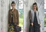 King Cole 5076 Knitting Pattern Womens Cardigan and Waistcoat in King Cole Merino Blend DK