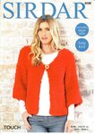 Sirdar 8088 Knitting Pattern Womens Easy Knit Kimono Cardigan in Sirdar Touch