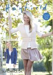 Sirdar 8139 Knitting Pattern Womens Jacket and Waistcoat in Hayfield Sundance DK