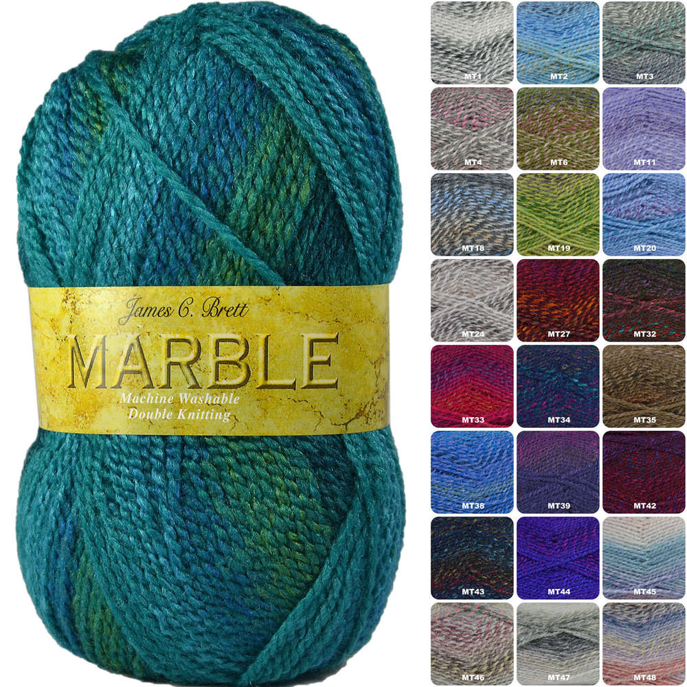8a5746a30 Buy James C Brett Marble DK Yarn Online at Athenbys