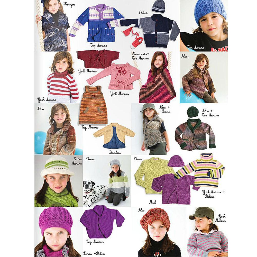 Buy Lanas Stop Childrens Knitting Pattern Book 104 Online
